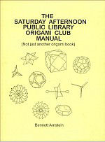 The Saturday Afternoon Public Library Origami Club Manual  : page 47.