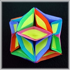 Icosahedron with Curves 2