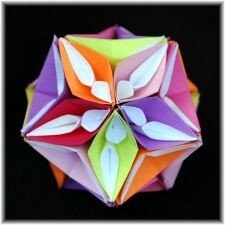 Icosahedron with Curves and Petals