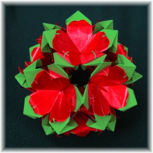 Layered Poinsettia
